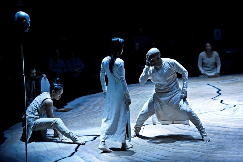 Dancers face off in Akram Khan's Until The Lions