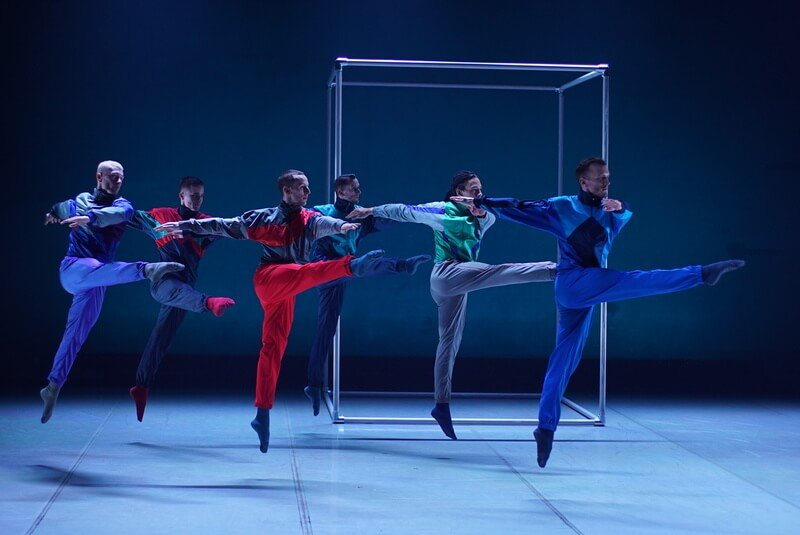The BalletBoyz jump in synchrony
