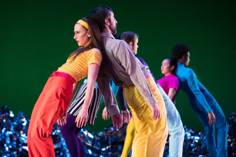 Mark Morris' Pepperland dancers lean back into their partners