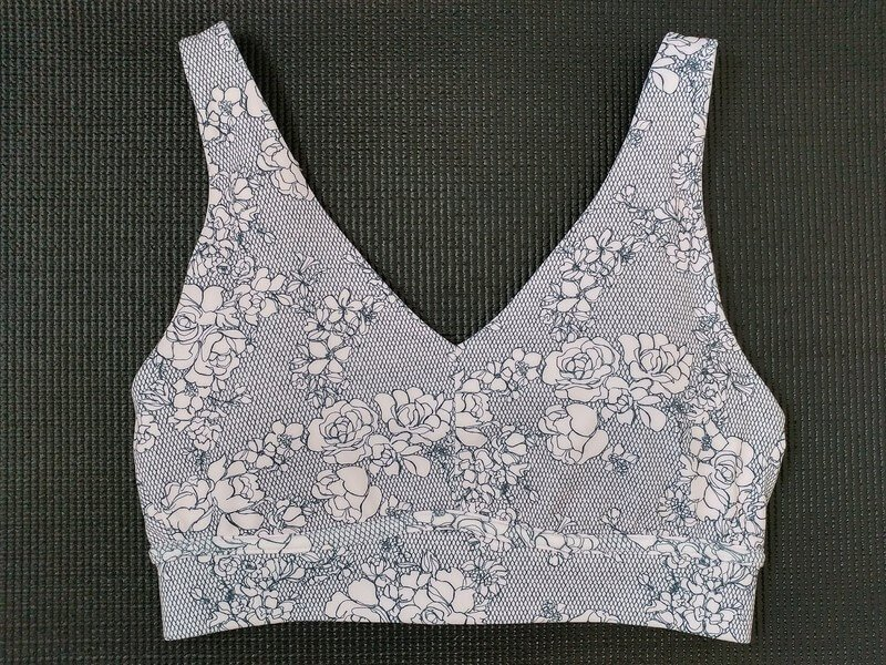 Floral Fabletics All Day Every Day Bra