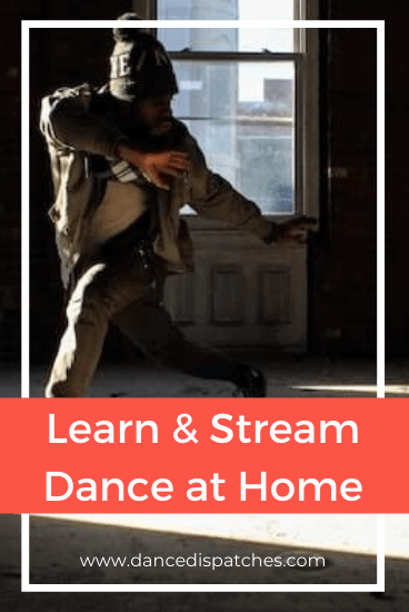 Pinterest Pin: Learn & Stream Dance at Home