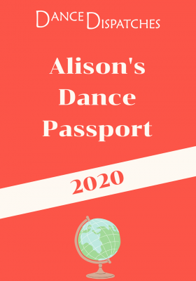 Dance Passport Cover