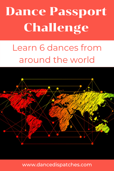 Dance Passport Challenge Pin