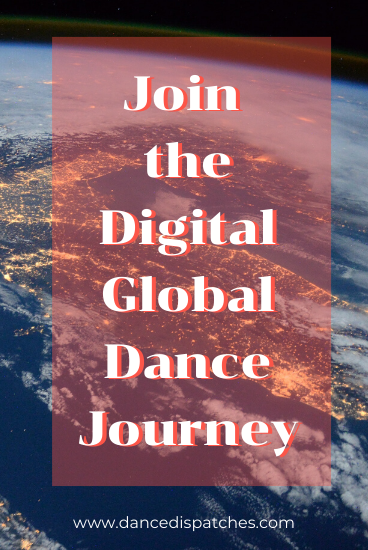Dance Passport 'Join the Digital Global Dance Journey' Pin