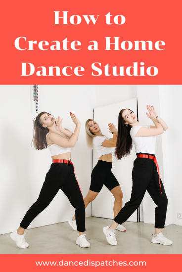 Create a Home Dance Studio Pinterest Pin