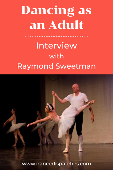 Raymond Sweetman Interview Pin 3
