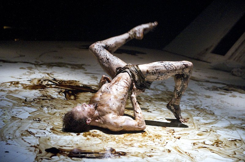 Main character Gregor Samsa as an insect in ROH's 'The Metamorphosis'