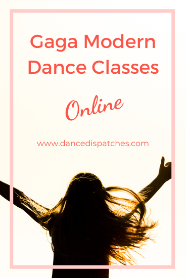 Gaga Modern Dance Classes Online Pinterest Pin