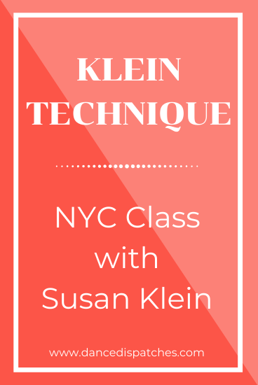 Klein Technique: NYC Class with Susan Klein Pinterest Pin