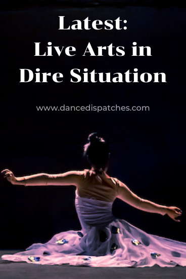 Latest: Live Arts in Dire Situation Pinterest Pin