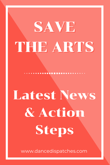 Save the Arts: Latest news and Action Steps Pinterest Pin