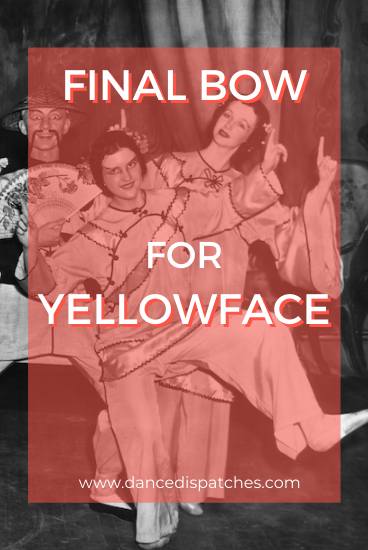 Final Bow for Yellowface Pinterest Pin