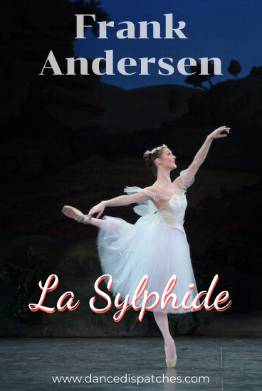Frank Anderson La Sylphide English National Ballet La Sylphide Pinterest Pin