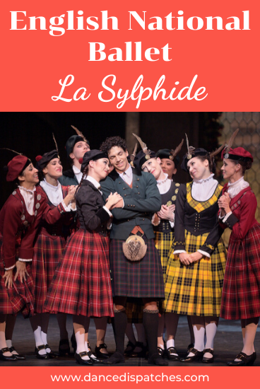 English National Ballet La Sylphide Pinterest Pin