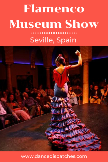 Flamenco Museum Show Seville Spain Pinterest Pin